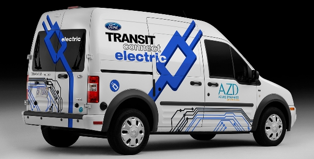 Ô tô điện Ford/Azure Dynamics Transit Connect Electric