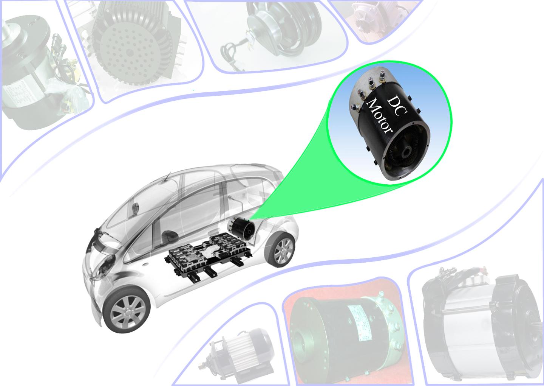 Động cơ điện xe ô tô điện, xe golf, xe du lịch